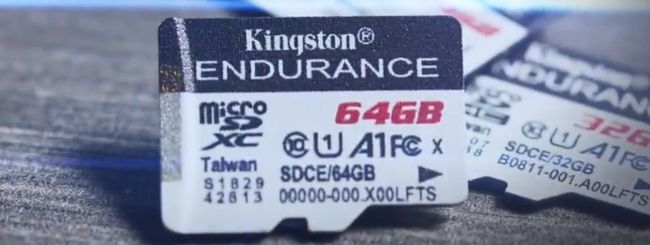 Kingston High Endurance, microSD ad alta resistenza