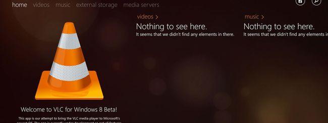 VLC per Windows 8 arriva sul Windows Store