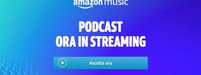 Amazon Music: i Podcast sbarcano in Italia