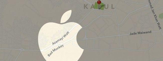 Le mappe di iOS 6 e le false strade di Kabul