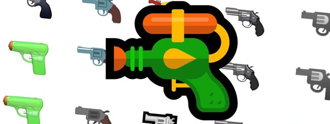 Emoji: una pistola ad acqua per Google e Microsoft