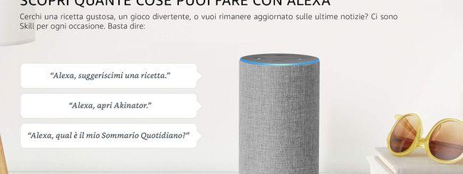 Amazon svela le Skill di Alexa in lingua italiana