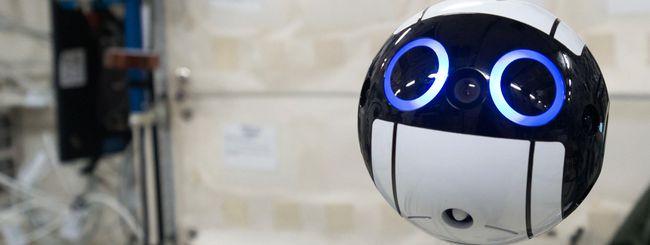 Int-Ball, un simpatico drone a bordo della ISS