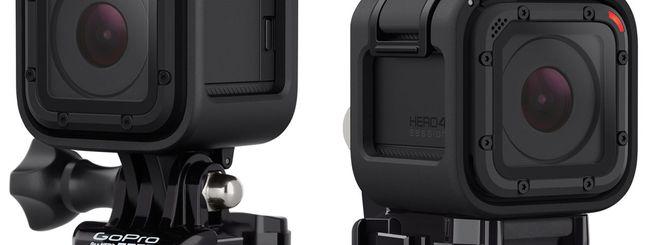 GoPro HERO4 Session: piccola, leggera e potente