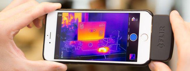 FLIR One, fotocamera termica per smartphone
