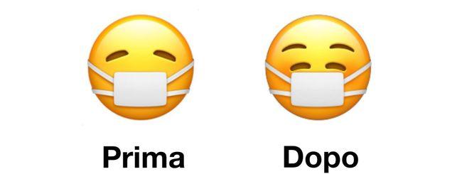 Apple mette il sorriso agli Emoji con mascherina