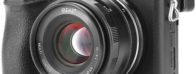 Meike 35mm f/1.4: un piccolo fisso a fuoco manuale per mirrorless APSC