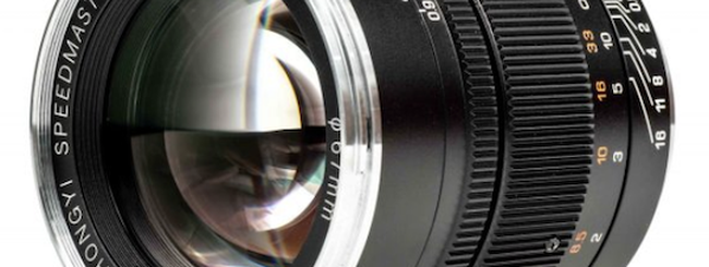 Annunciato il nuovo Mitakon Speedmaster 50mm f/0,95 III per mirrorless