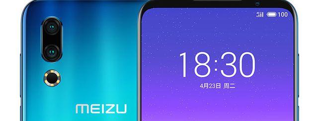 Meizu 16s, display AMOLED e 8 GB di RAM