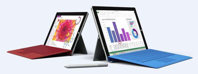 Microsoft annuncia Surface 3 con Windows 8.1