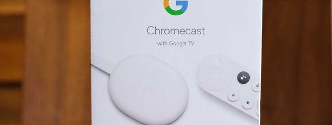 Svelato il nuovo Chromecast con Google TV