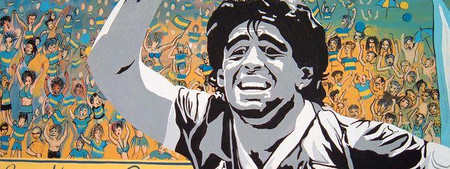 PES: Maradona scende in campo per Konami