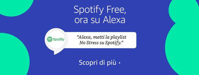 Spotify Free arriva sui dispositivi Echo con Alexa