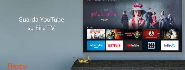 Prime Video su Chromecast, YouTube su Fire TV