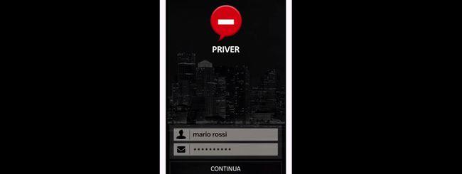 Priver: l'app per una vita più riservata