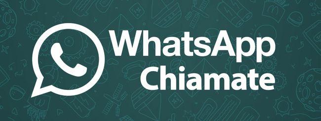 WhatsApp Chiamate per tutti, o quasi