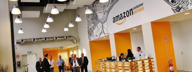 Amazon, 1700 nuovi posti di lavoro in Italia
