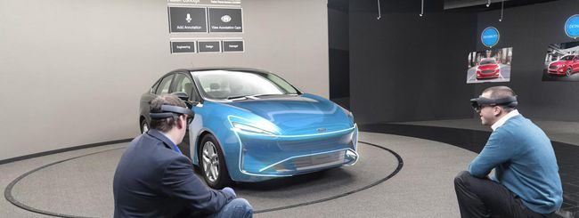 Ford progetta le automobili con HoloLens
