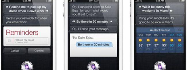Apple: Siri non arriverà su altri iDevice
