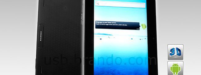 Gadmei T863, tablet Android 3D a 199 dollari