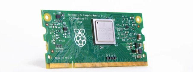 Raspberry Pi lancia il Compute Module 3+