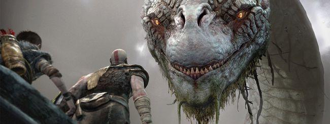 God of War su PS4 dal 20 aprile