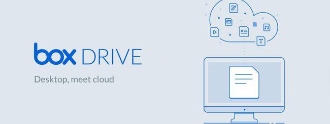Box Drive, il desktop incontra il cloud