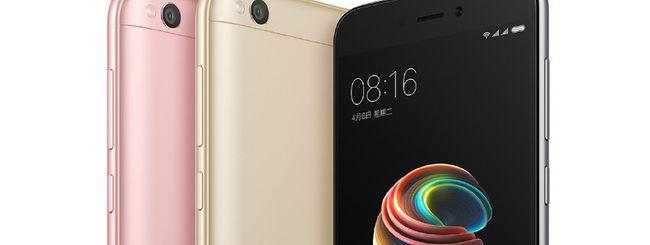 Xiaomi Redmi 5A, smartphone economico in metallo