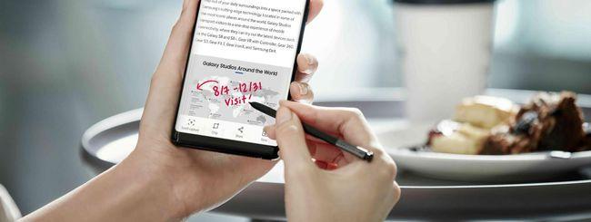 Samsung Galaxy Note 9, S Pen con Bluetooth?