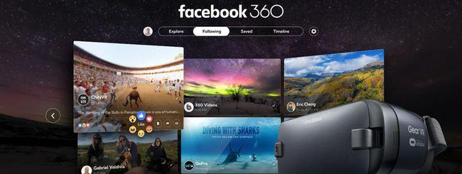 Facebook 360, un salto nella realtà virtuale