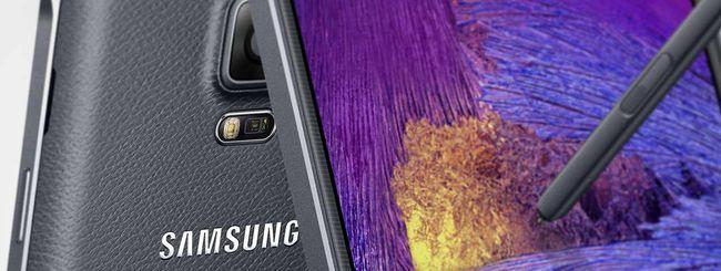 Samsung annuncia il Galaxy Note 4 LTE-A