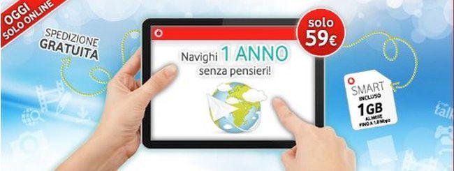 Vodafone Internet Smart: 12 mesi a 59€ ma solo per oggi