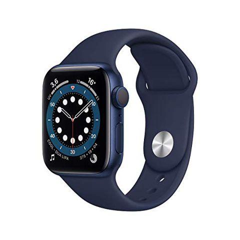 Apple Watch Series 6 (GPS, 40 mm) Cassa in alluminio azzurro con Cinturino Sport