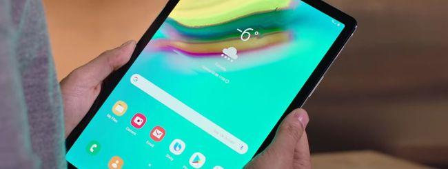 Samsung Galaxy Tab S5e, primo tablet con Bixby 2.0