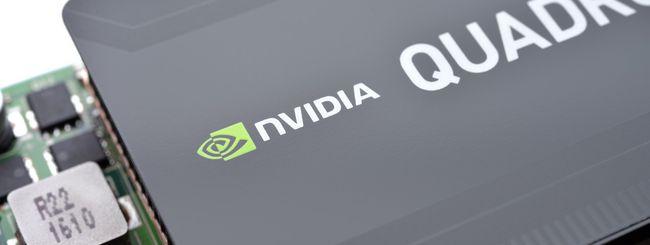 NVIDIA, GPU Quadro RTX con architettura Turing