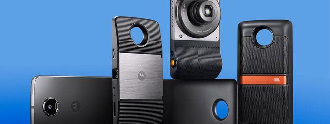 Motorola svela nuovi Moto Mods