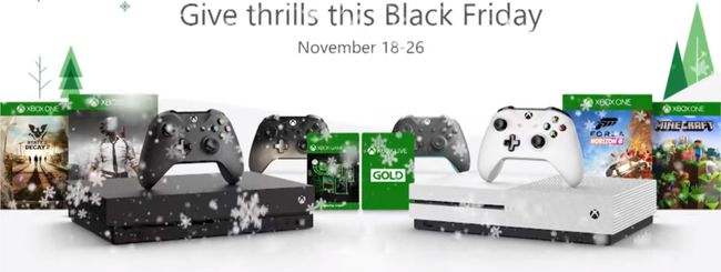 Black Friday 2018 Xbox, sconti su console e giochi
