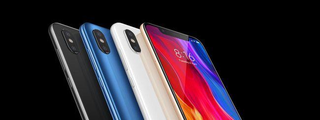 Xiaomi Mi 8 disponibile in Italia