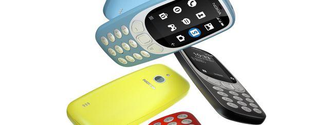 Nokia 3310 3G in Italia dal 5 ottobre