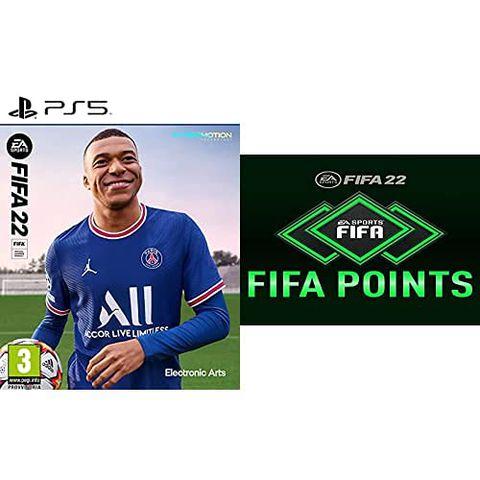 FIFA 22 Playstation 5 + FIFA 22 Ultimate Team - 1050 FIFA Points
