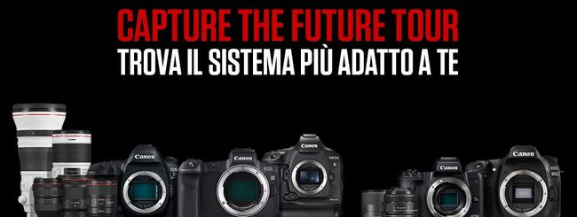 Prende il via il Capture The Future Tour: da Catania a Milano con Canon