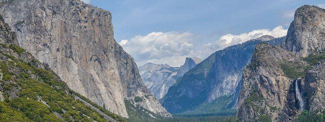 Grazie ad Apple, aumenta il turismo allo Yosemite