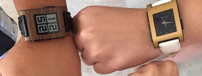 Smartwatch Pebble, supporto garantito per un anno