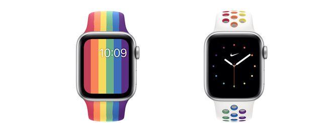 Apple lancia 2 nuovi cinturini Pride per Apple Watch