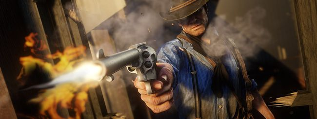 Red Dead Redemption 2, glitch dà fuoco ai cavalli