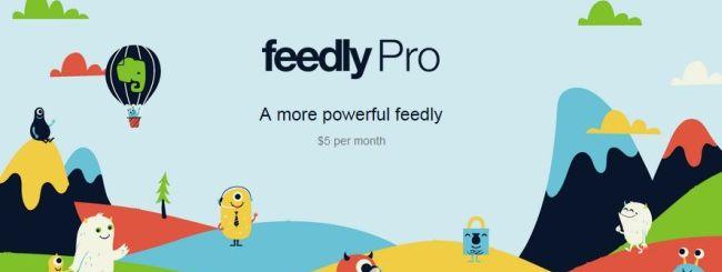 Feedly Pro, ricerca negli articoli in abbonamento