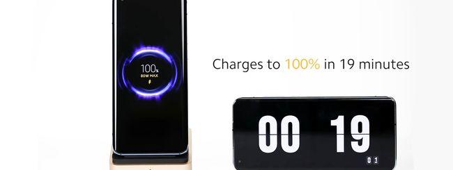 Xiaomi annuncia la tecnologia di ricarica wireless a 80W