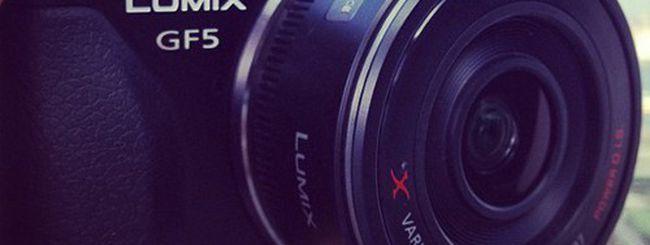 Panasonic Lumix GF5, prima immagine in Rete