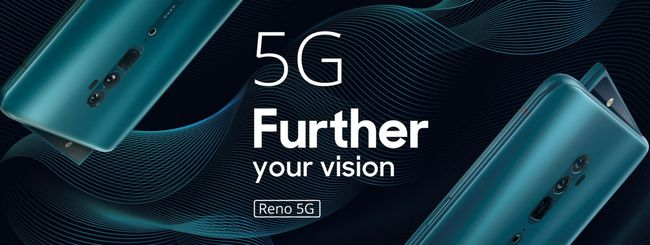 Oppo Reno, zoom ibrido 10x e versione 5G