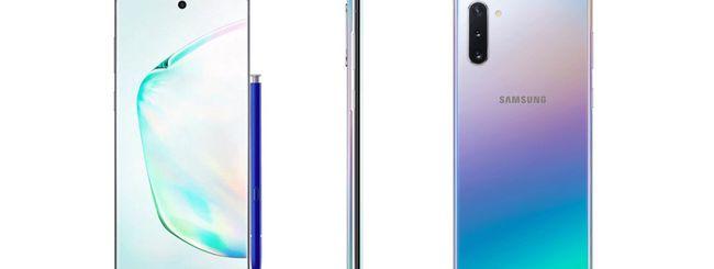 Samsung Galaxy Note 10, immagini ufficiali